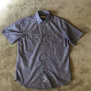 James Campbell chambray button up size M